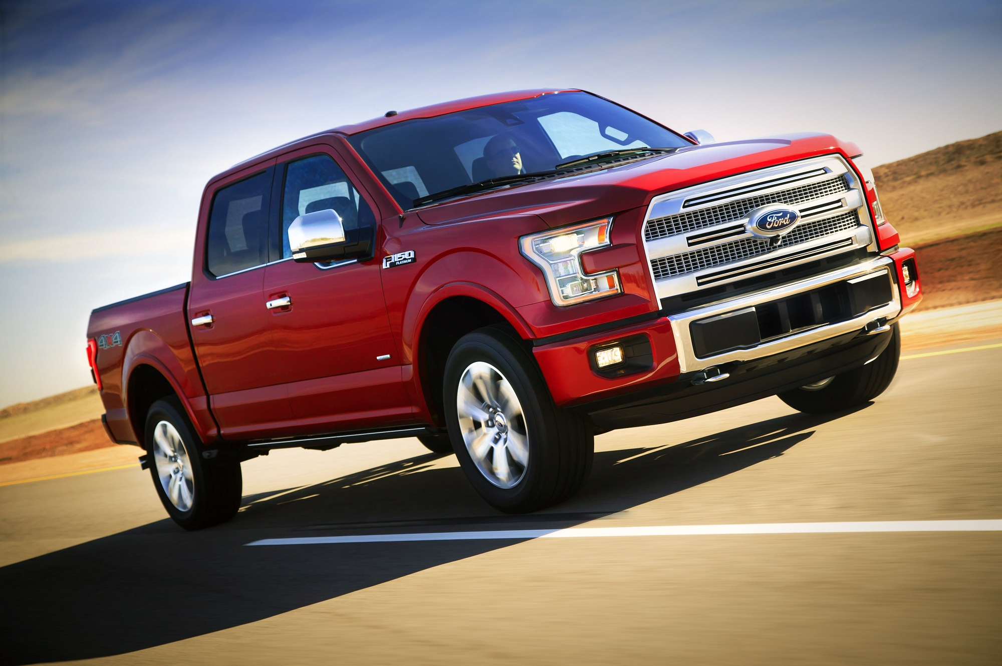 The New 2015 Ford F